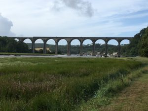 viaduct over river tiddy