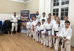 The Ivybridge Karate group